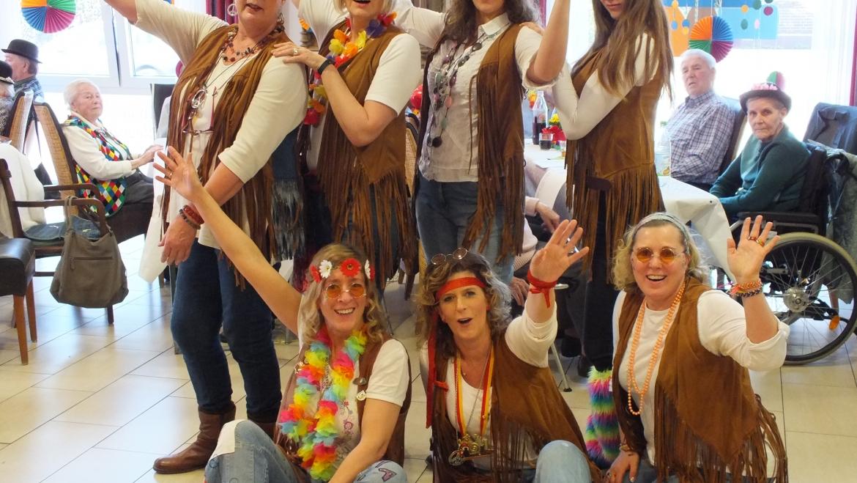 Karneval in der Tagespflege