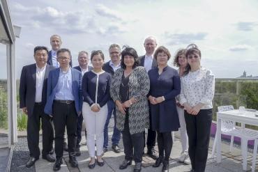 Delegation chinesischer Pflegeexperten besucht die Clivia Gruppe in Kleve