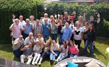 Ein Grillfest und ein Abschied in den Ruhestand